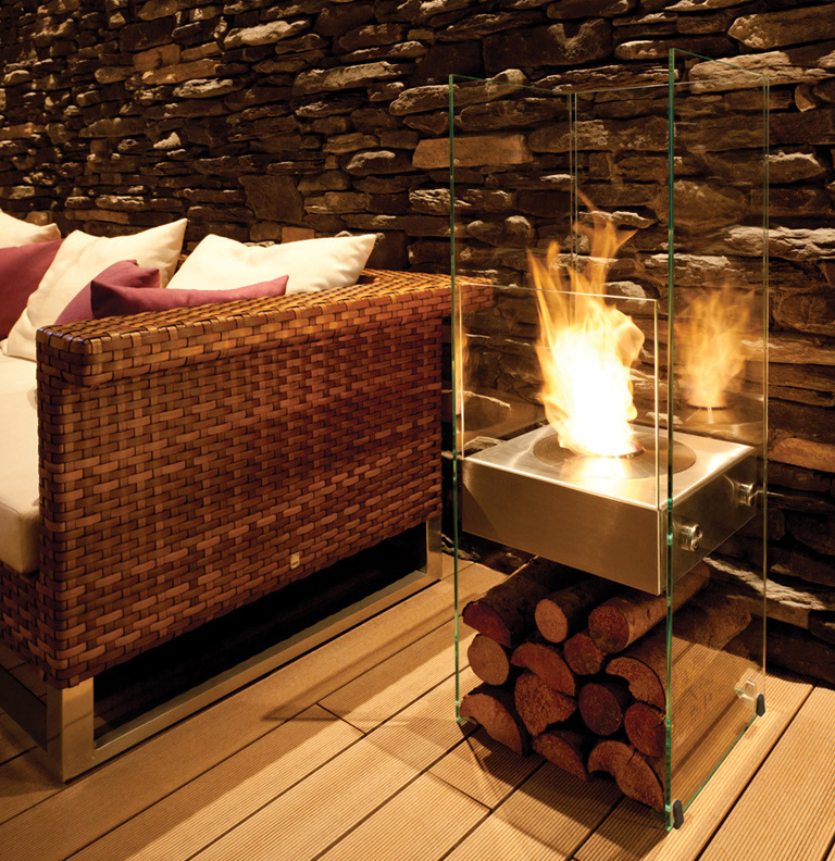 Indoor Eco-Friendly Fireplaces